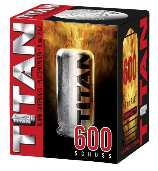 600 Perfecta Titan Knallpatronen 9 mm P.A.K.