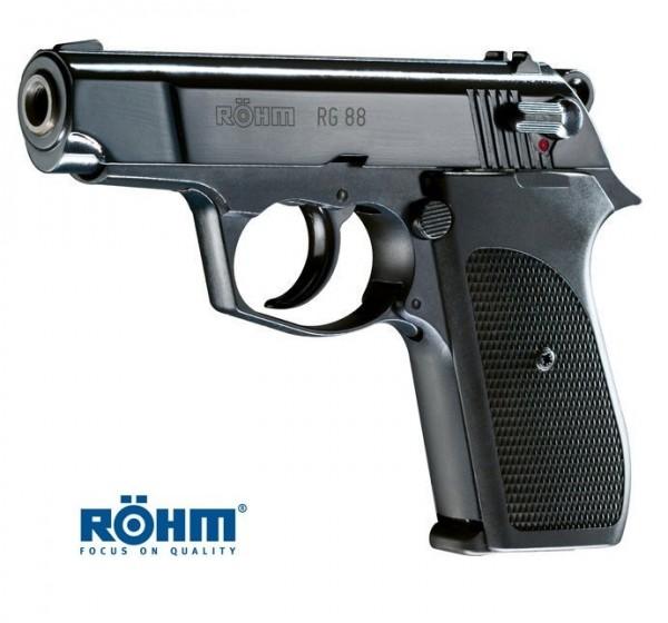 Röhm RG 88 Gaspistole Brüniert