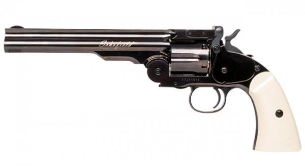 "Schofield 6"" CO2 Revolver Steel Grey 4,5 mm BB´s"