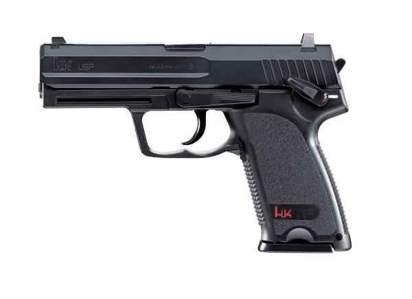 Heckler & Koch USP CO-2 Pistole Schwarz