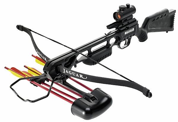 Recurve Armbrust Jaguar Mod.2020 Schwarz