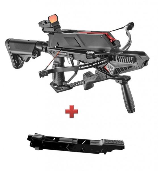 GoGun Adder Cobra System Armbrust mit zusätzlichem 7-Schuss-Magazin