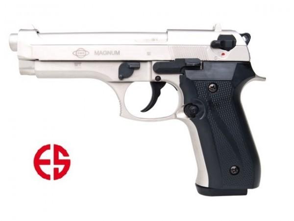 Ekol Firat Magnum vernickelt Schreckschusspistole 9 mm