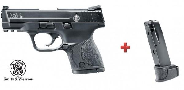 Smith & Wesson M&P 9C + Ersatzmagazin 15-schüssig