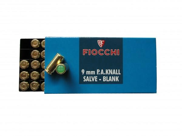 Fiocchi Platz-/ Knallpatronen 9 mm P.A.K.