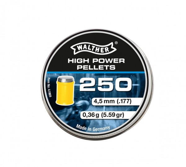 Walther High-Power Pellets