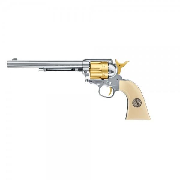 """Colt SAA .45-7.5"""" Gold Edition CO2 Revolver Diabolos"""