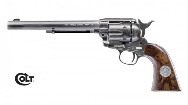 "Colt SAA .45-7.5"" NRA LIMITED EDITION CO2 Revolver Diabolos"