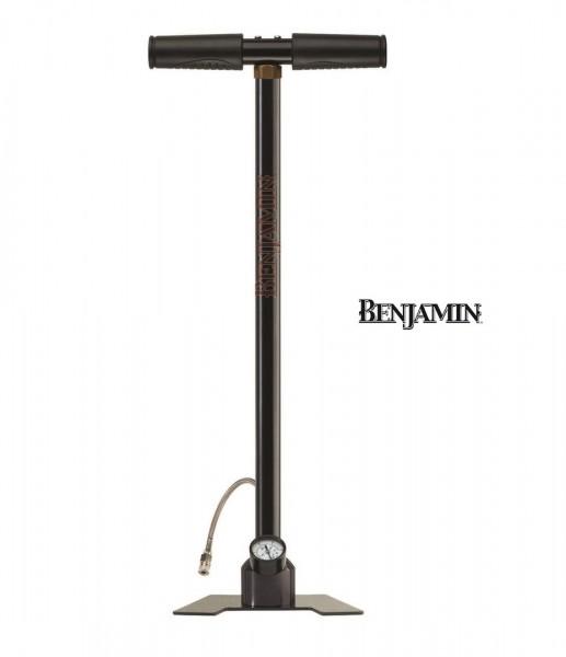Benjamin Pressluftpumpe mit Manometer und Schnellfülladapter