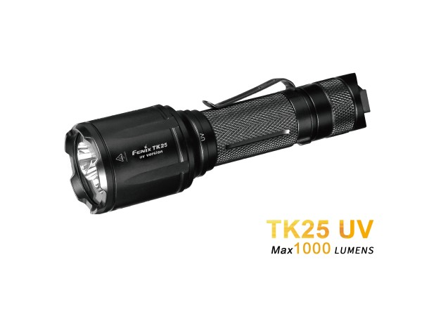 Fenix TK25UV Weiß + UV LED Taschenlampe