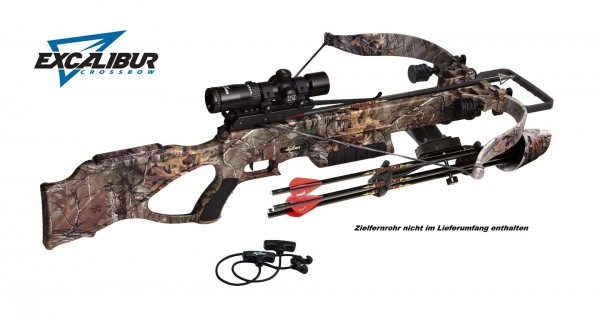 EXCALIBUR Matrix 380 Xtra - 260 lbs / 380 fps - inkl. REDS Dämpfer