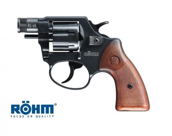 Röhm RG46 Schreckschussrevolver brüniert 6mm Flobert