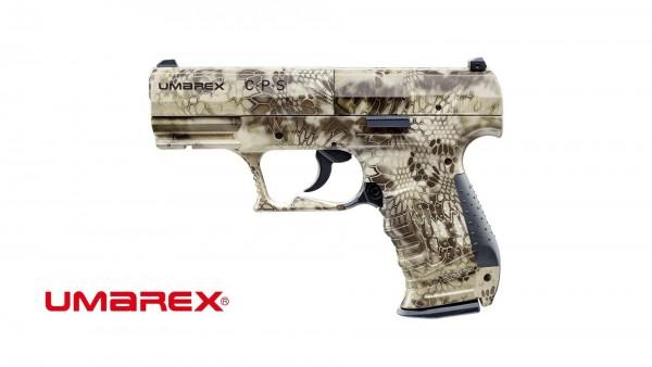 Umarex CPS cal. 4,5 mm (.177) Diabolo - Kryptek CO2 Pistole