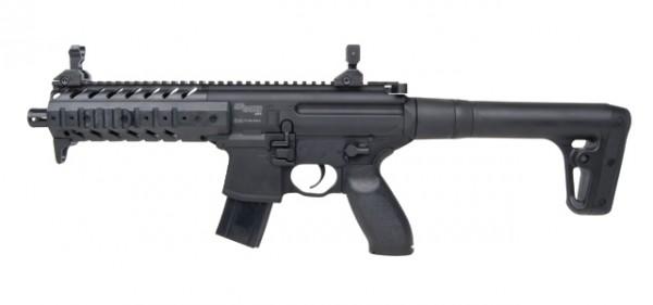 SIG SAUER MPX CO2-Gewehr Schwarz 4,5 mm Diabolo