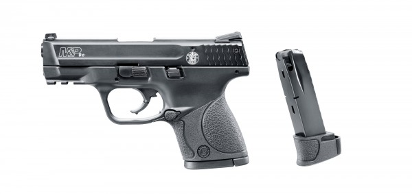 Smith & Wesson M&P 9C Schreckschusspistole 9 mm P.A.K. + Ersatzmagazin 15-schüssig