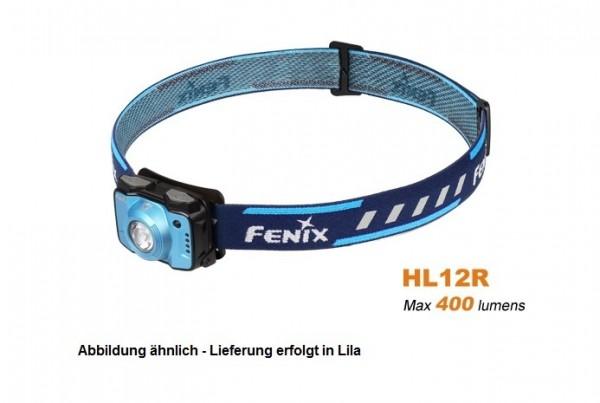 Fenix HL12R LED Stirnlampe Lila
