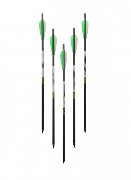 5 Spezial - Carbonbolzen für FX Verminator, Bobcat, Streamline Arrow
