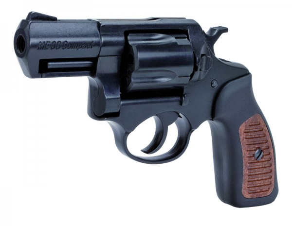 ME 38 Compact Brüniert Braune Griffeinlagen