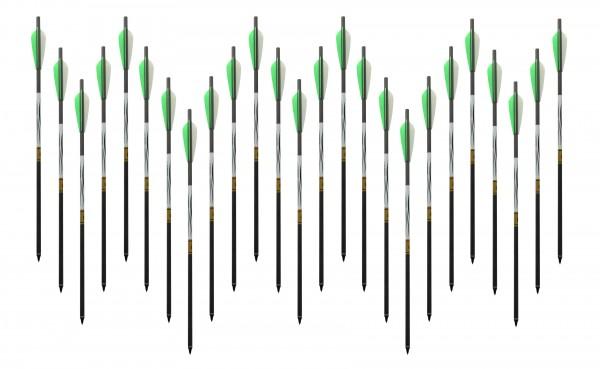 25 Spezial - Carbonbolzen für FX Verminator, Bobcat, Streamline Arrow