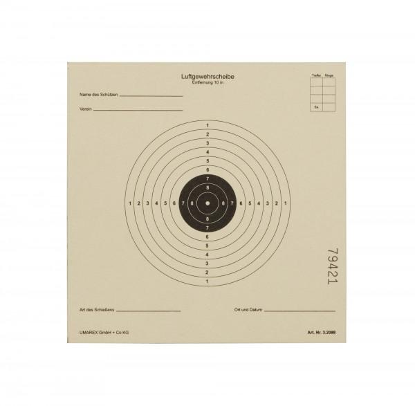Umarex Luftgewehr-Zielscheiben 100 Stück