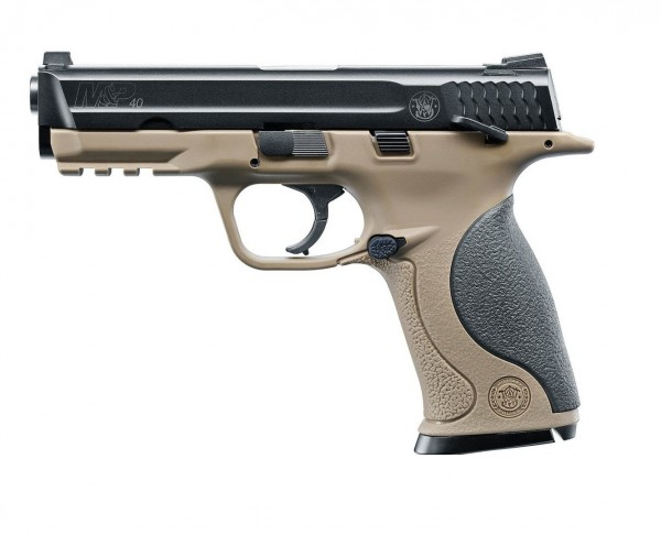 Smith & Wesson M&P40 TS FDE CO2 Pistole