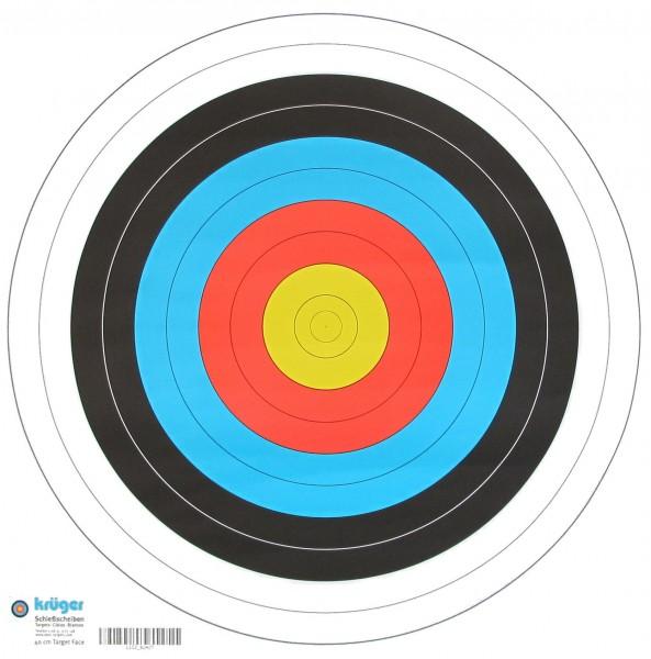 Zielscheiben Auflage nach FITA Abmaßen - 40 cm