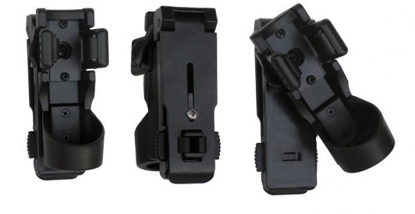 ESP LHU-14/ 34mm Universelles drehbares Kunststoffholster Taschenlampen