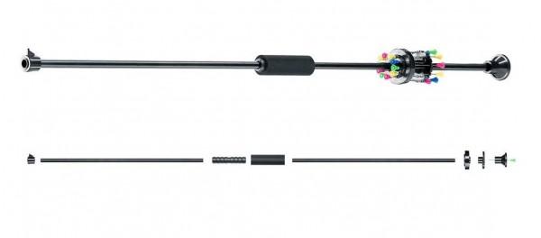Blowgun Blasrohr Schwarz 105 cm