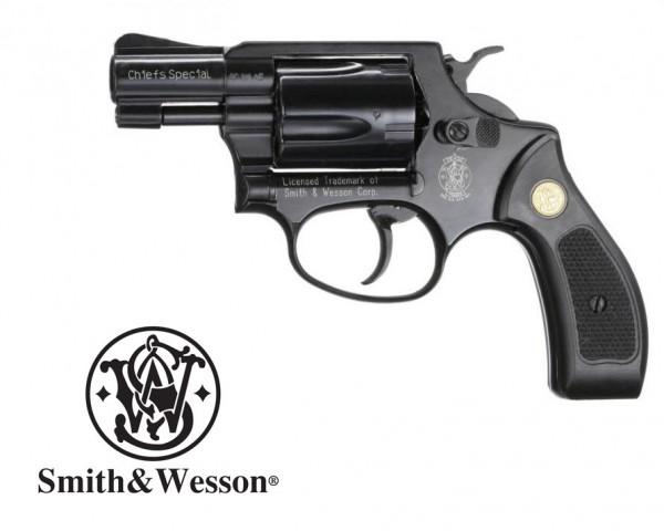 Smith & Wesson Chiefs Special Schwarz 9 mm RK