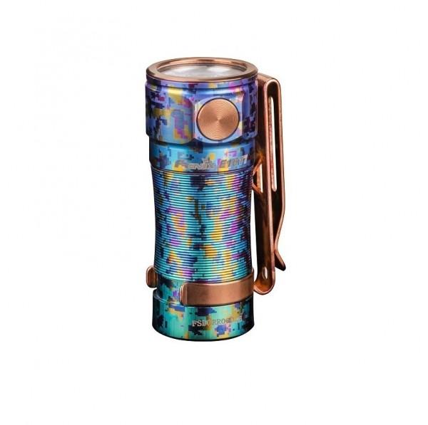 Fenix E16 Ti Titan LED Taschenlampe Galaxy Blue