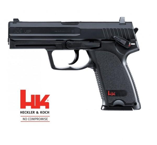 Heckler & Koch USP CO-2 Pistole Brüniert
