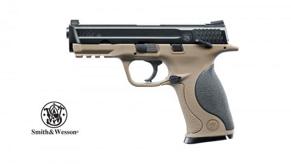 Smith & Wesson M&P40 TS FDE CO2 Pistole