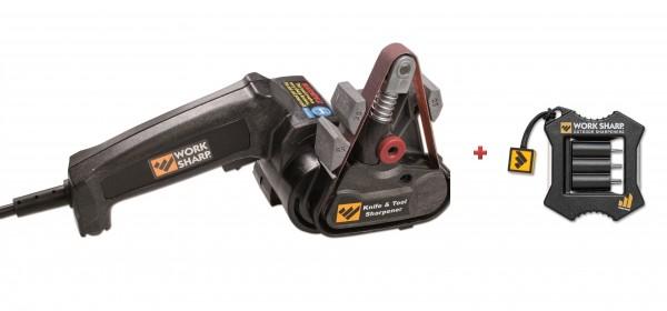 Work Sharp Schärfgerät für Messer und Werkzeug & Work Sharp Micro Sharpener & Knife Tool