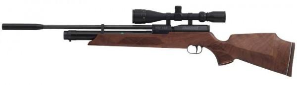Weihrauch HW 100 S Pressluftgewehr 5,5 mm Schalldämpfer