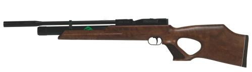 Weihrauch HW 100 T Pressluftgewehr 4,5 mm Schalldämpfer