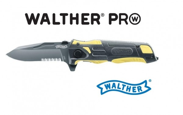 Walther PRO Rescue Knife Gelb