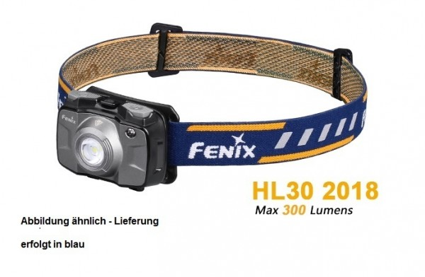 Fenix HL30 2018 LED Stirnlampe Blau
