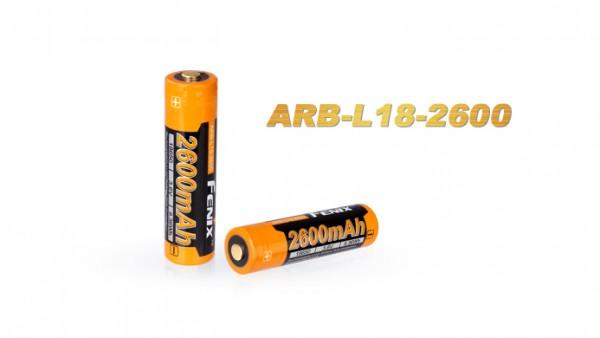 Fenix ARB-L18-2600 mAh 18650 LiIon Akku geschützt