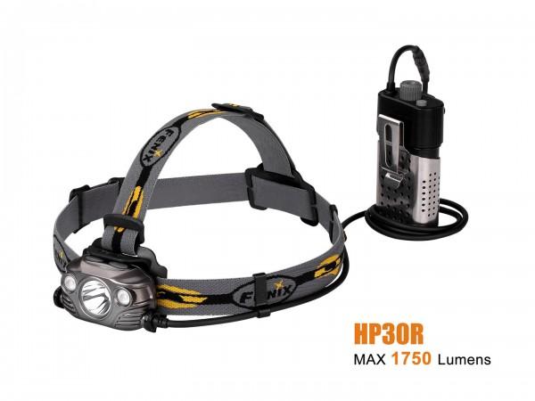 Fenix HP30R LED Stirnlampe Grau