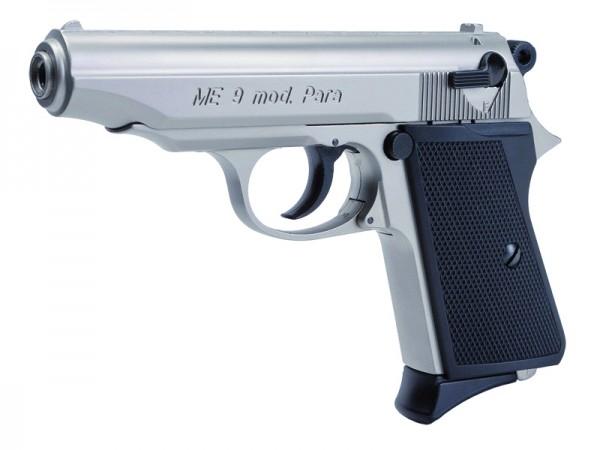 ME Modell 9 Para Schreckschusspistole 9 mm P.A.K. Vernickelt