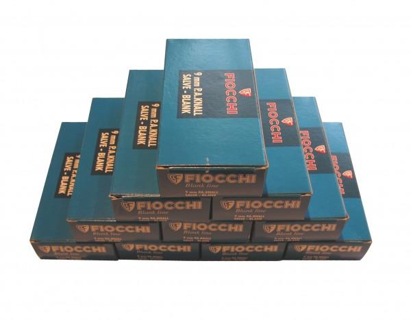 500 Fiocchi Platz-/Knallpatronen 9mm P.A.K