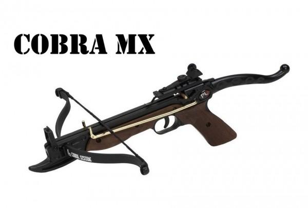 Pistolenarmbrust Cobra MX 80lbs Holzoptik