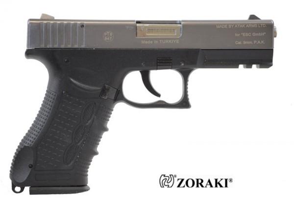 Zoraki 917 Schreckschusspistole 9mm P.A.K.Titan-Chrom