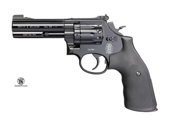"""Smith & Wesson Mod. 586-4"""" cal. 4,5 mm (.177) Diabolo - Schwarz"""