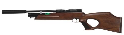 Weihrauch HW 100 TK Pressluftgewehr 5,5 mm Schalldämpfer