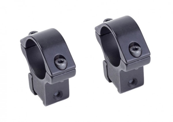 Weihrauch Zielfernrohr Montage 25,4 mm für Prismen Schienen 11 mm – 14 mm
