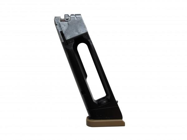 Ersatzmagazin für Glock 19X Blowback CO2 Pistole