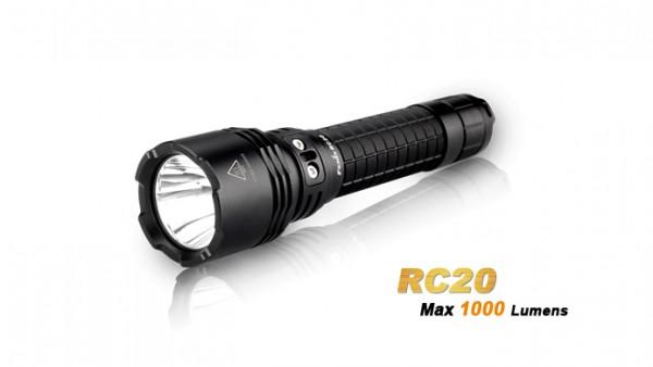 Fenix RC20 LED Taschenlampe mit Ladestation