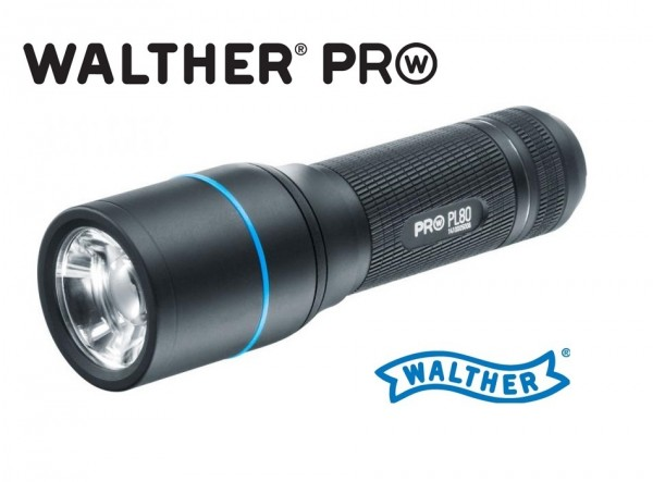 Walther PRO PL80 LED Taschenlampe