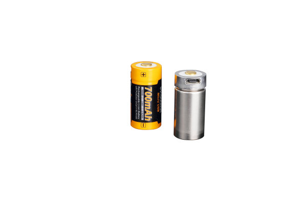 Fenix ARB-L16-700U geschützter LiIon Akku 16340 RC123A